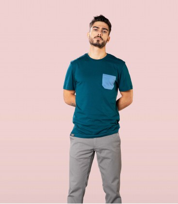 Monochrome Pocket T-Shirt - Snap Climbing