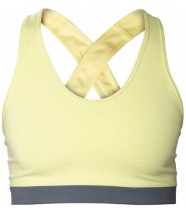 Crossed Bra _ Yellow - Snap Climbing