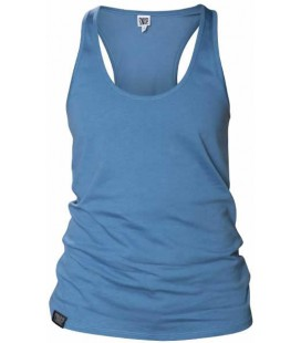 Fit Tank Top W _ Steel Blue - Snap Climbing